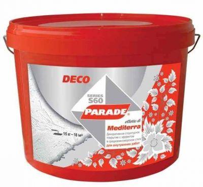 Parade S60 Mediterra Декоративная штукатурка (15 кг)