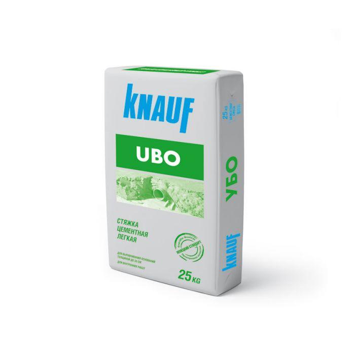 Knauf  УБО стяжка цементная лёгкая (30 - 300мм) (25 кг)