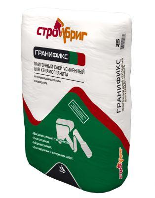 Стройбриг Гранификс - плиточный клей усиленный для керамогранита (25 кг)