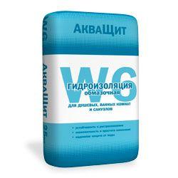 СТАРАТЕЛИ АкваЩит W6 - обмазочная гидроизоляция (25 кг.)