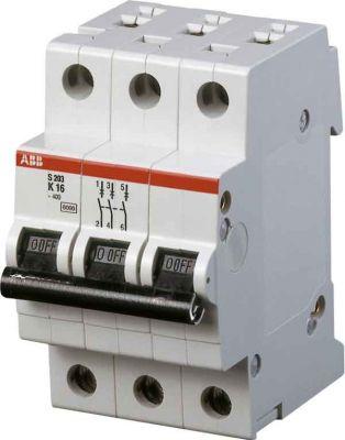 АВВ автоматический выключатель 3-полюсной серия SH