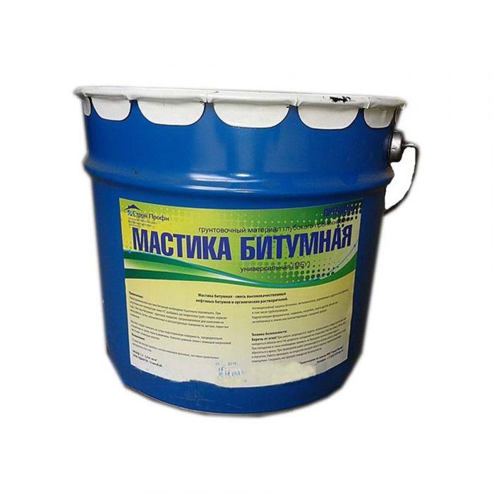 Мастика битумная универсальная Ведро  16 кг/18 л