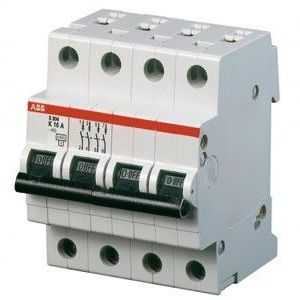 ABB Aвтоматический выключатель 4-полюсной серия S