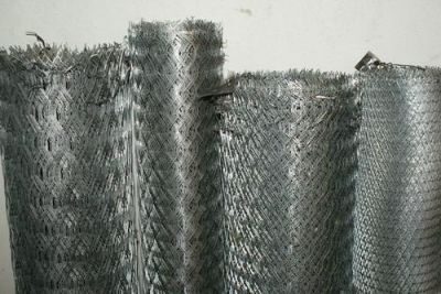 Сетка цельнометаллическая просечно-вытяжная (ЦПВС) оцинкованная