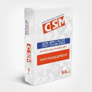 Цемент М-500 ЦСМ (40;45;50 кг) ПЦ500Д0